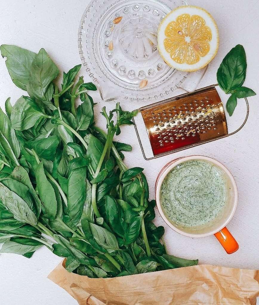 maionese al basilico ricetta