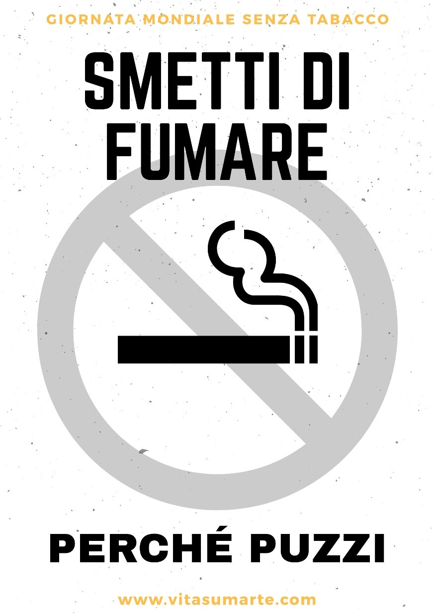 Smettere di Fumare - Giornata Mondiale Senza Tabacco