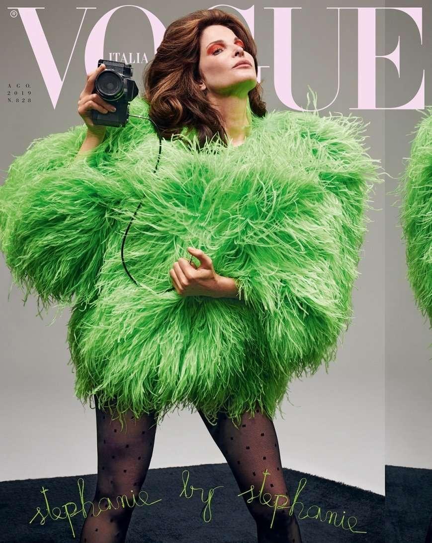 copertina di Vogue Italia agosto 2019