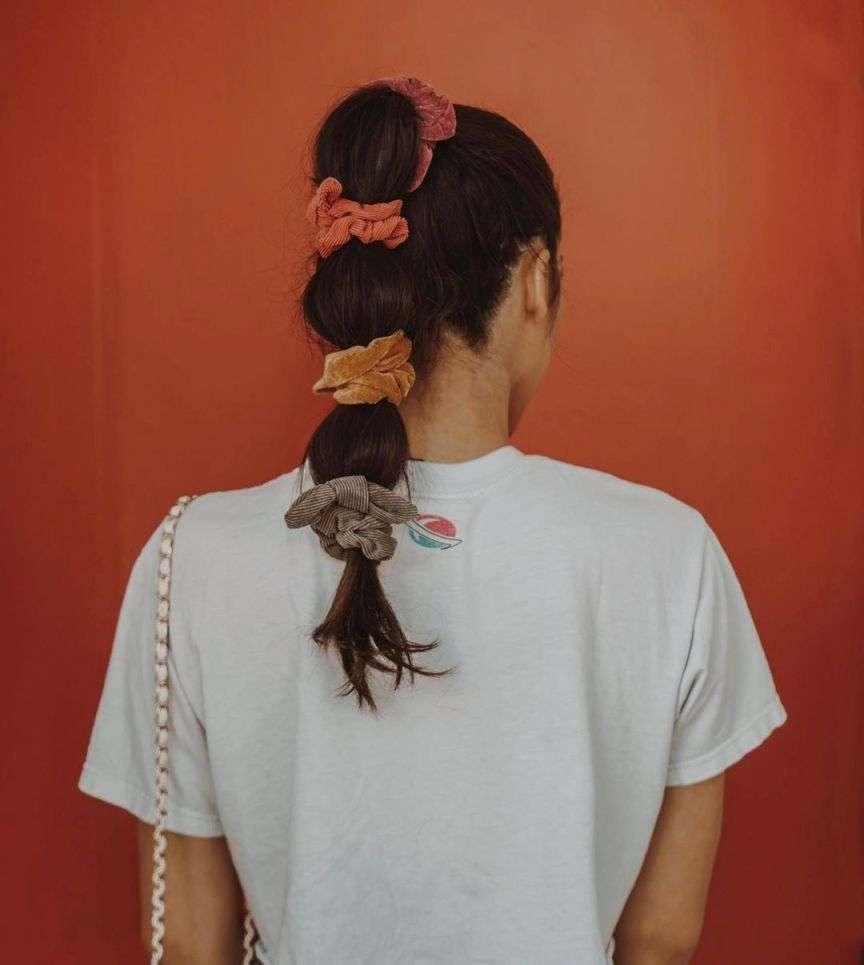 elastici scrunchies