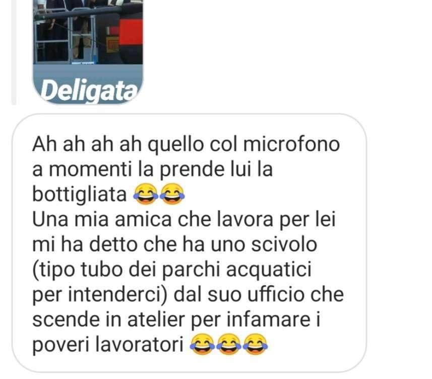 scivolo di Miuccia Prada