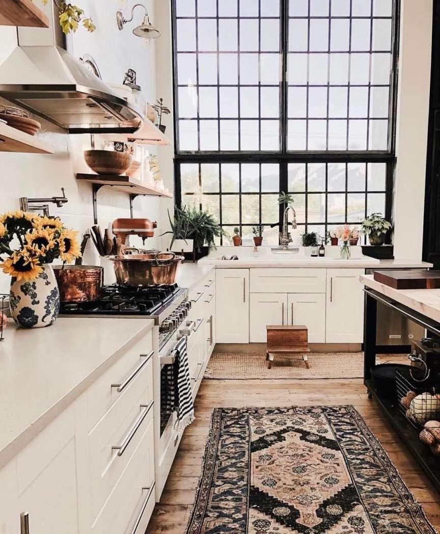 tappeto in cucina