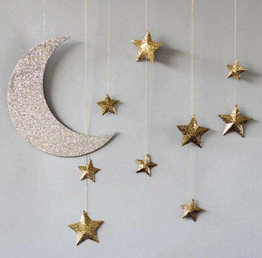 oggetti a tema luna