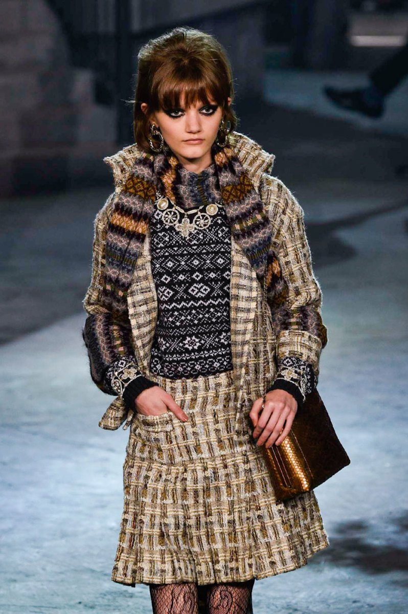 chanel fair isle sweater 2016