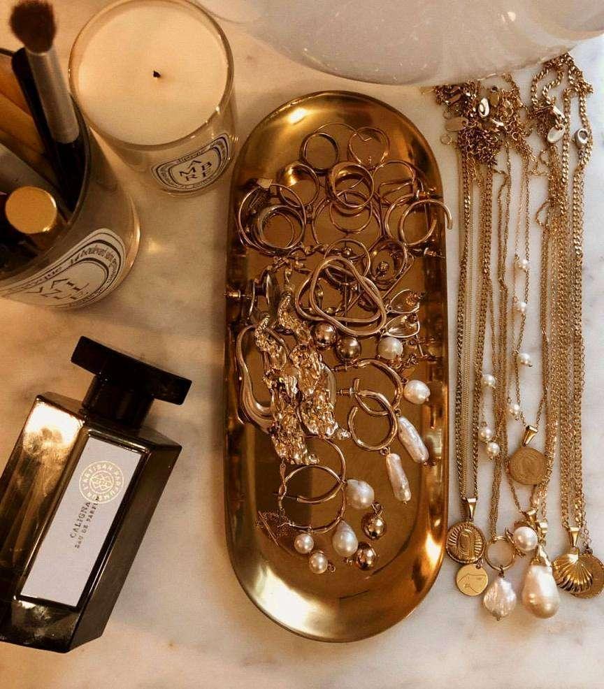 gioielli e bigiotteria oro e perle