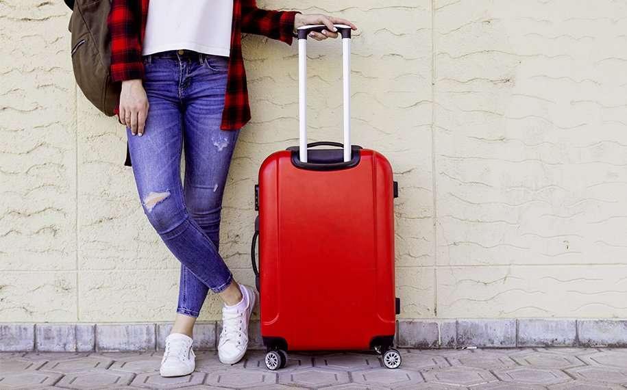 compattare bagaglio voluminoso