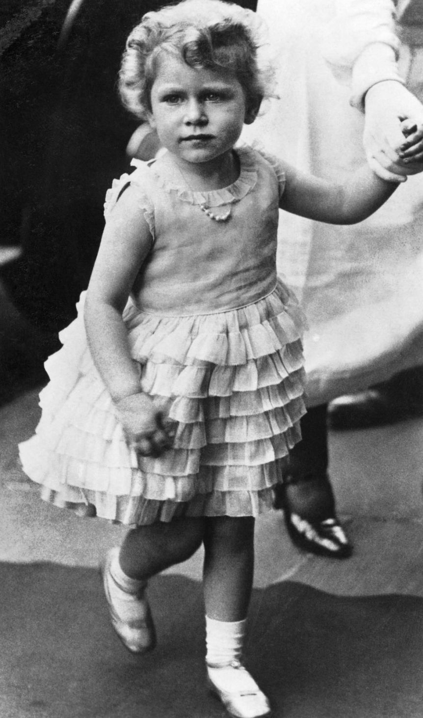 regina elisabetta bambina