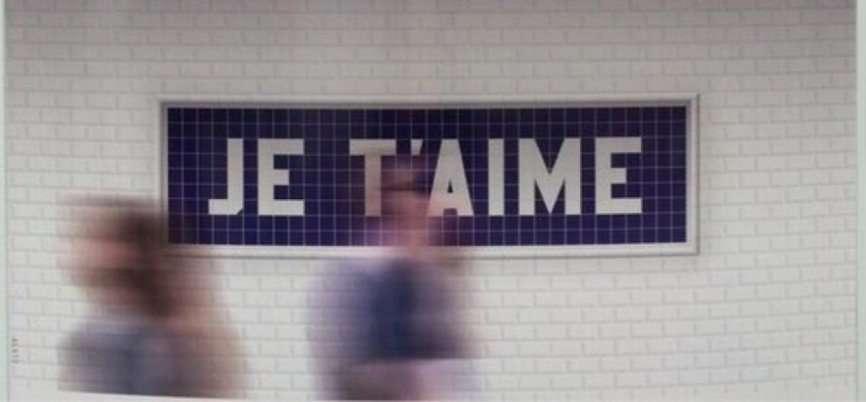je t'aime metro