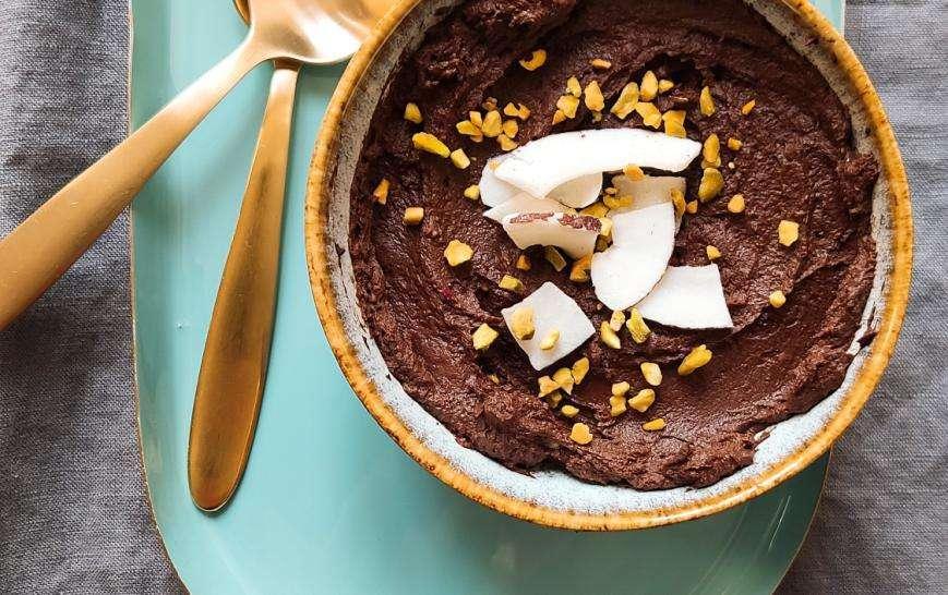 Crema al cioccolato vegana