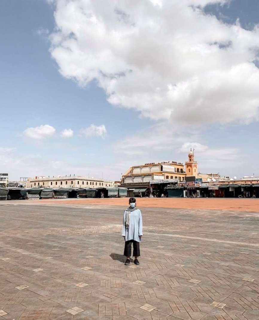 piazza marrakech coronavirus