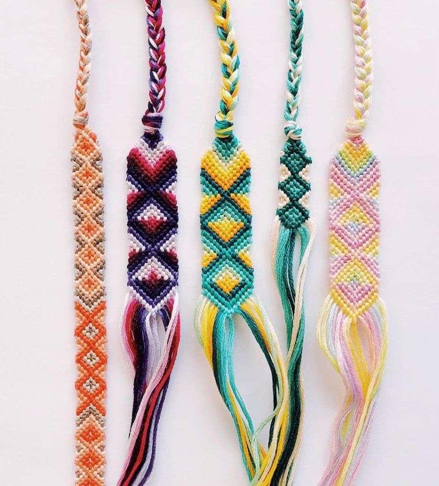 braccialetti fili di cotone