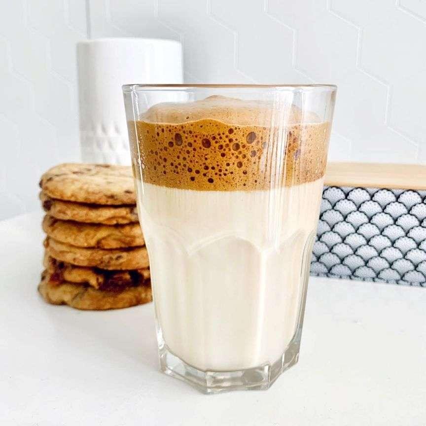 come fare il dalgona coffee