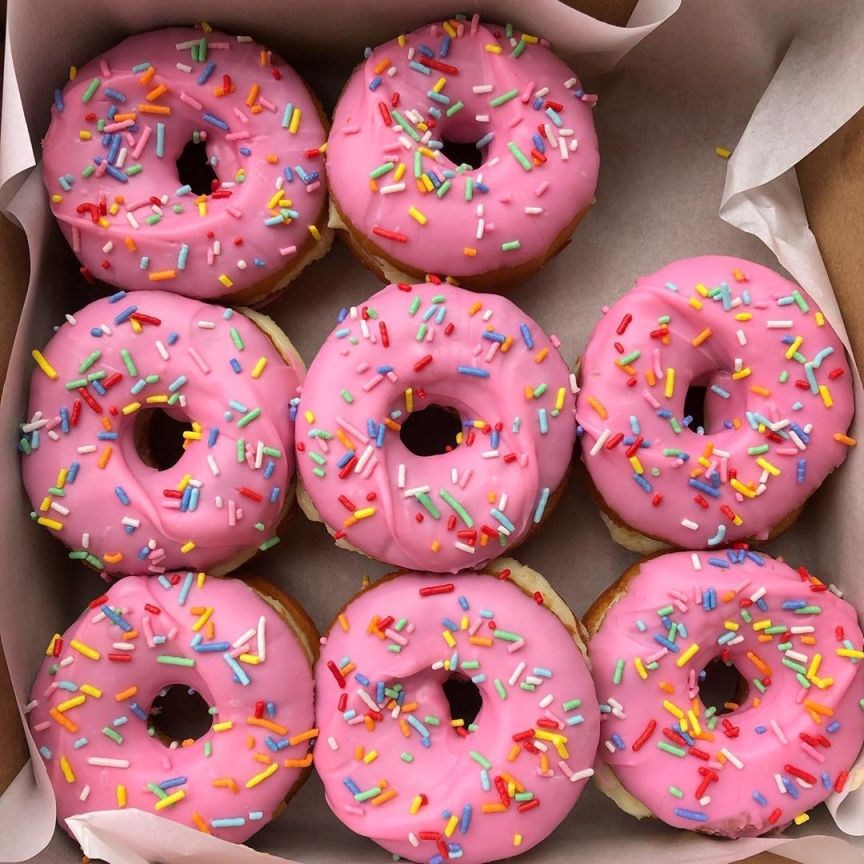 curiosità sui donut americani