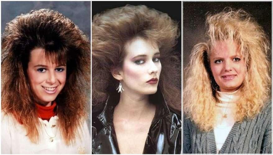 capelli anni 80