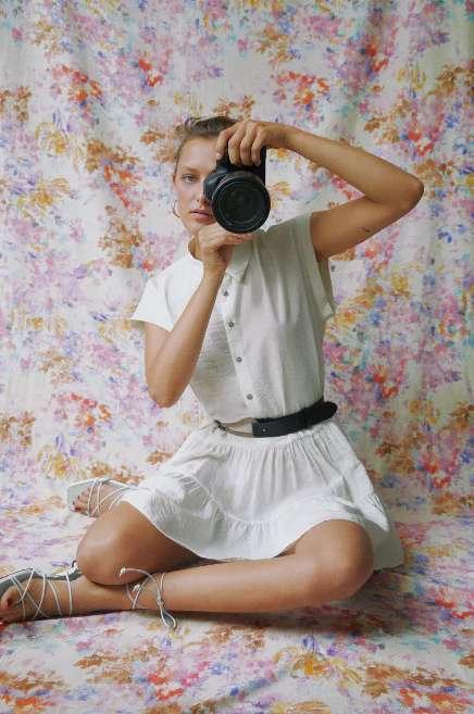 vestito bianco scontato