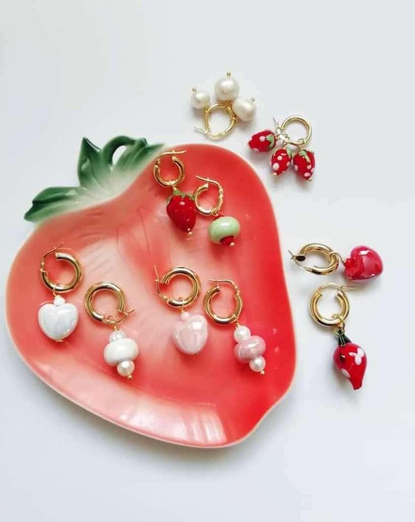 orecchini charms