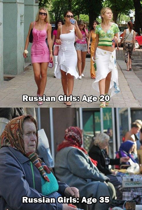 russian girls meme
