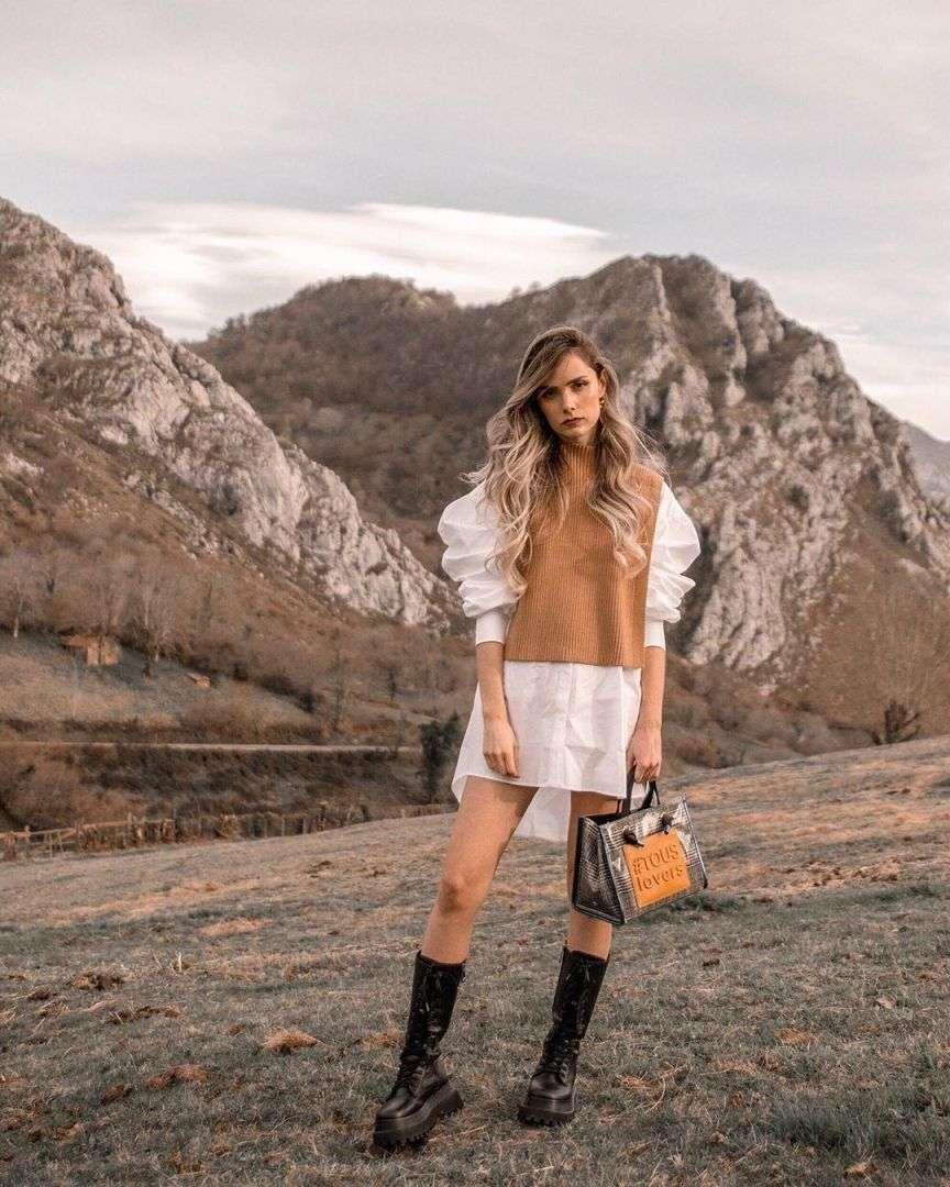 knit vest fashion trend