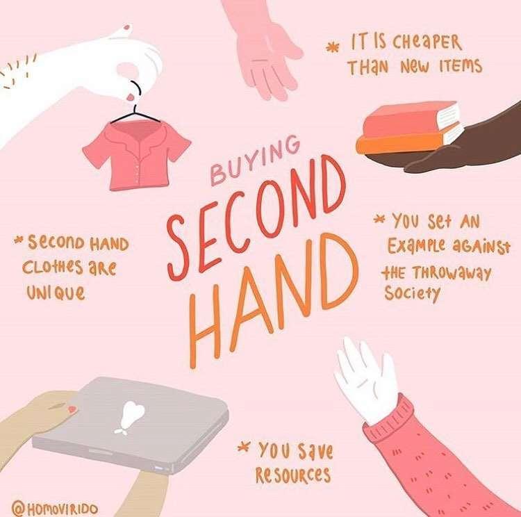 second hand illustrazione
