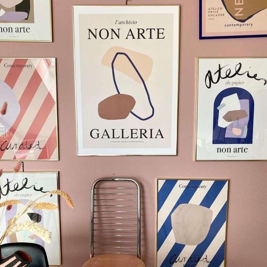 poster mostre arte