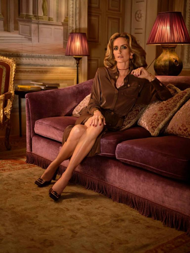 stile ricca signora versace