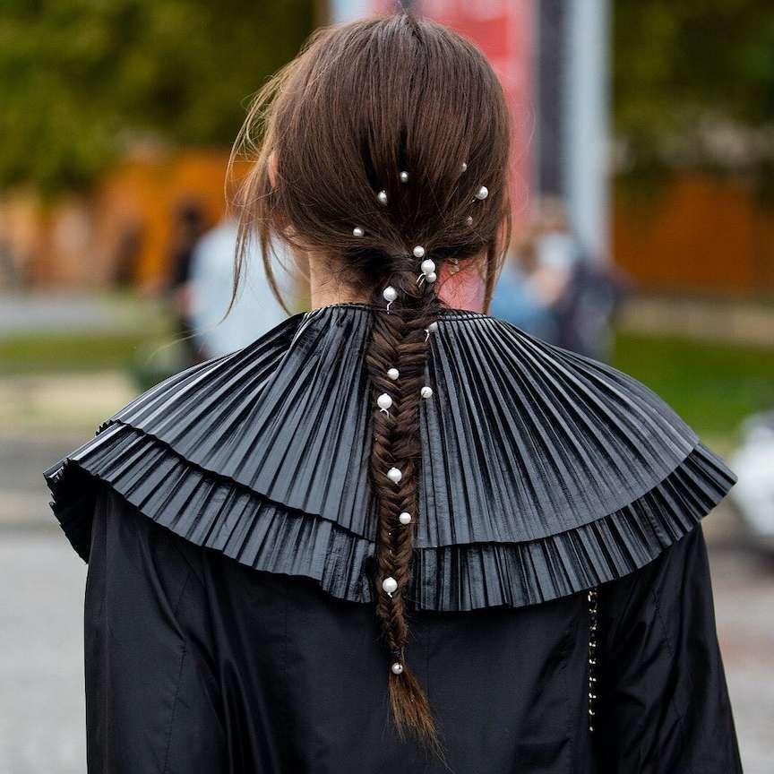 moda sobrietà nei capelli