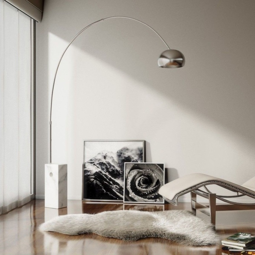 oggetti di design scontati - lampada arco