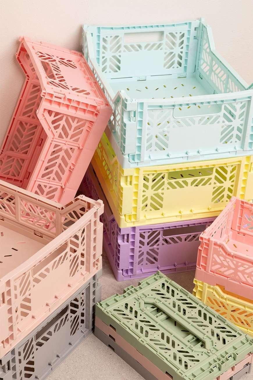 cassette plastica colorate