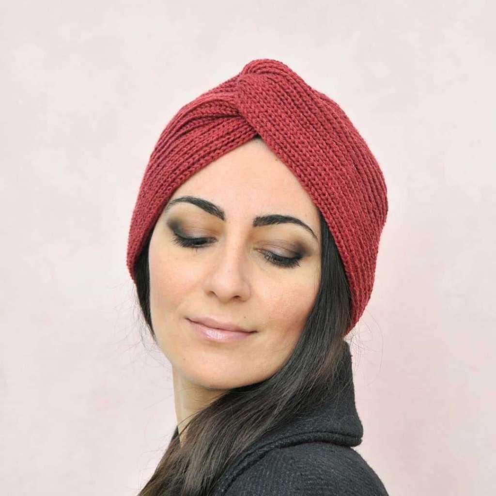 Cappello lana fatto a mano
