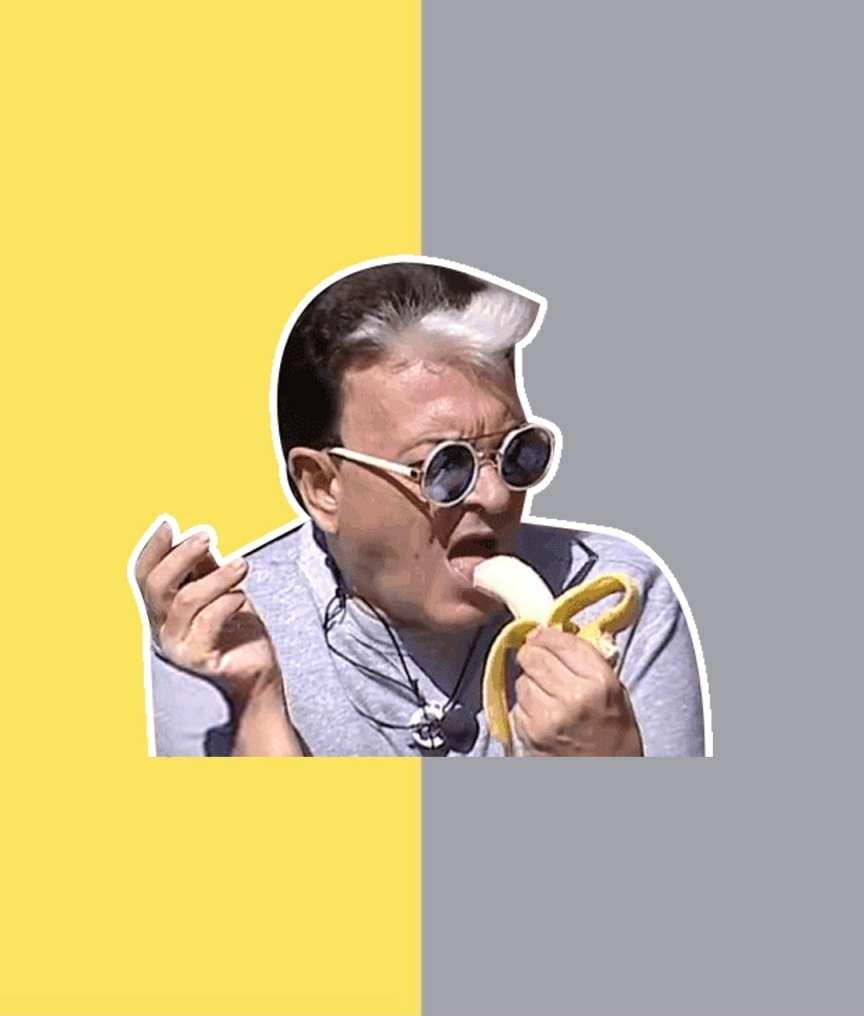 malgioglio banana pantone 2021