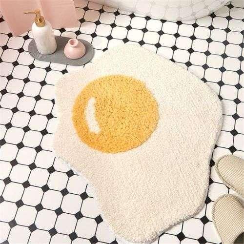 bath mat egg
