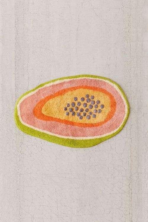 tappeto papaya