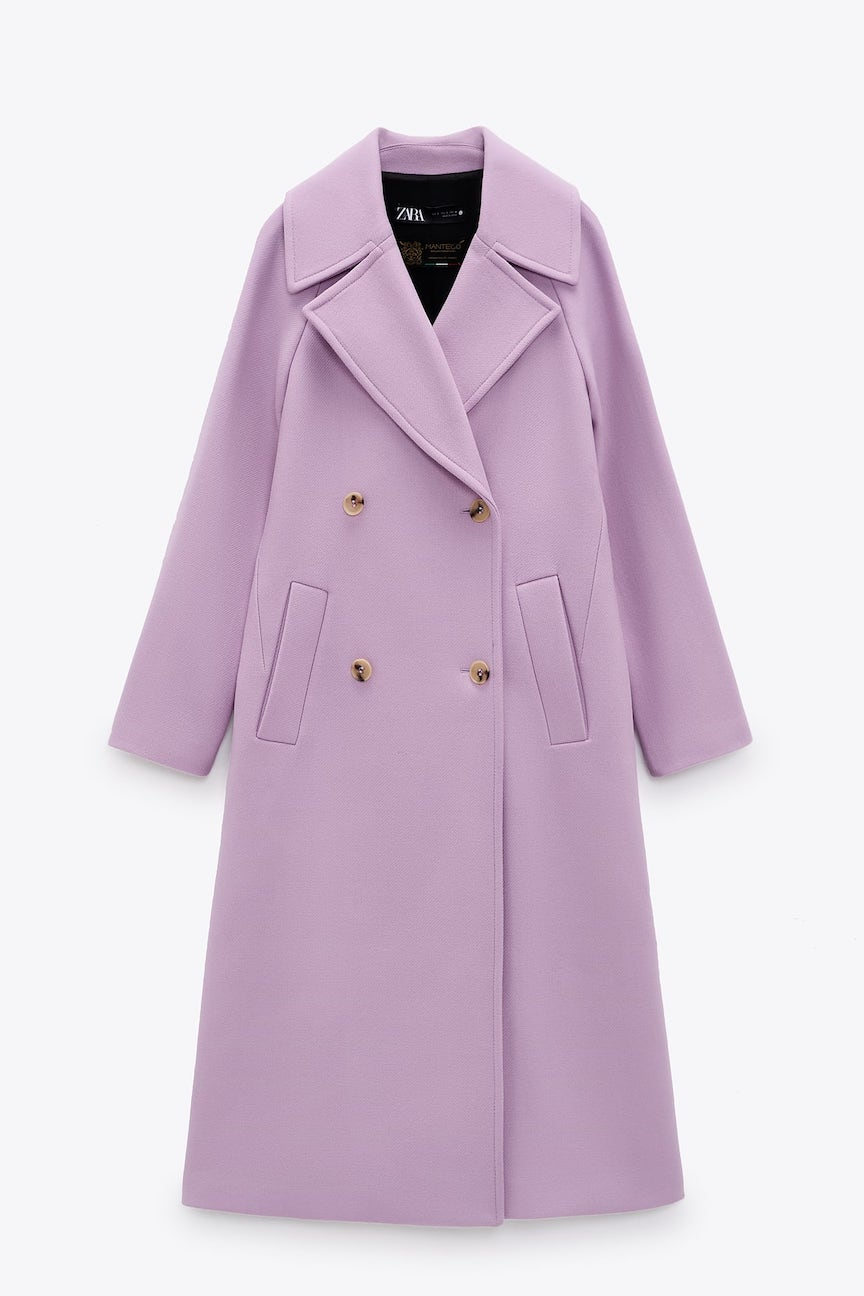 cappotto lilla
