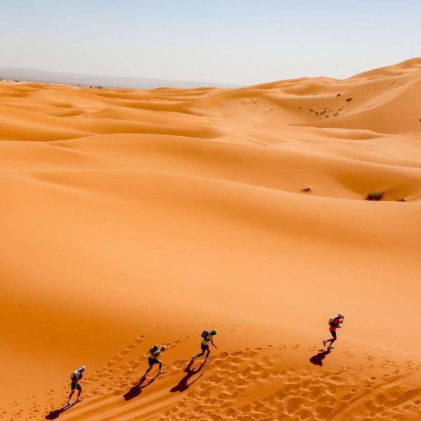 Maratona nel deserto