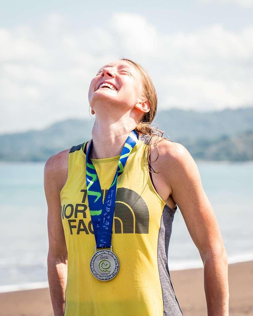 Finisher gara con medaglia