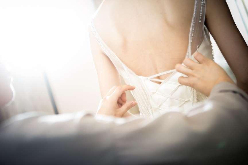 come organizzare un matrimonio vestito da sposa
