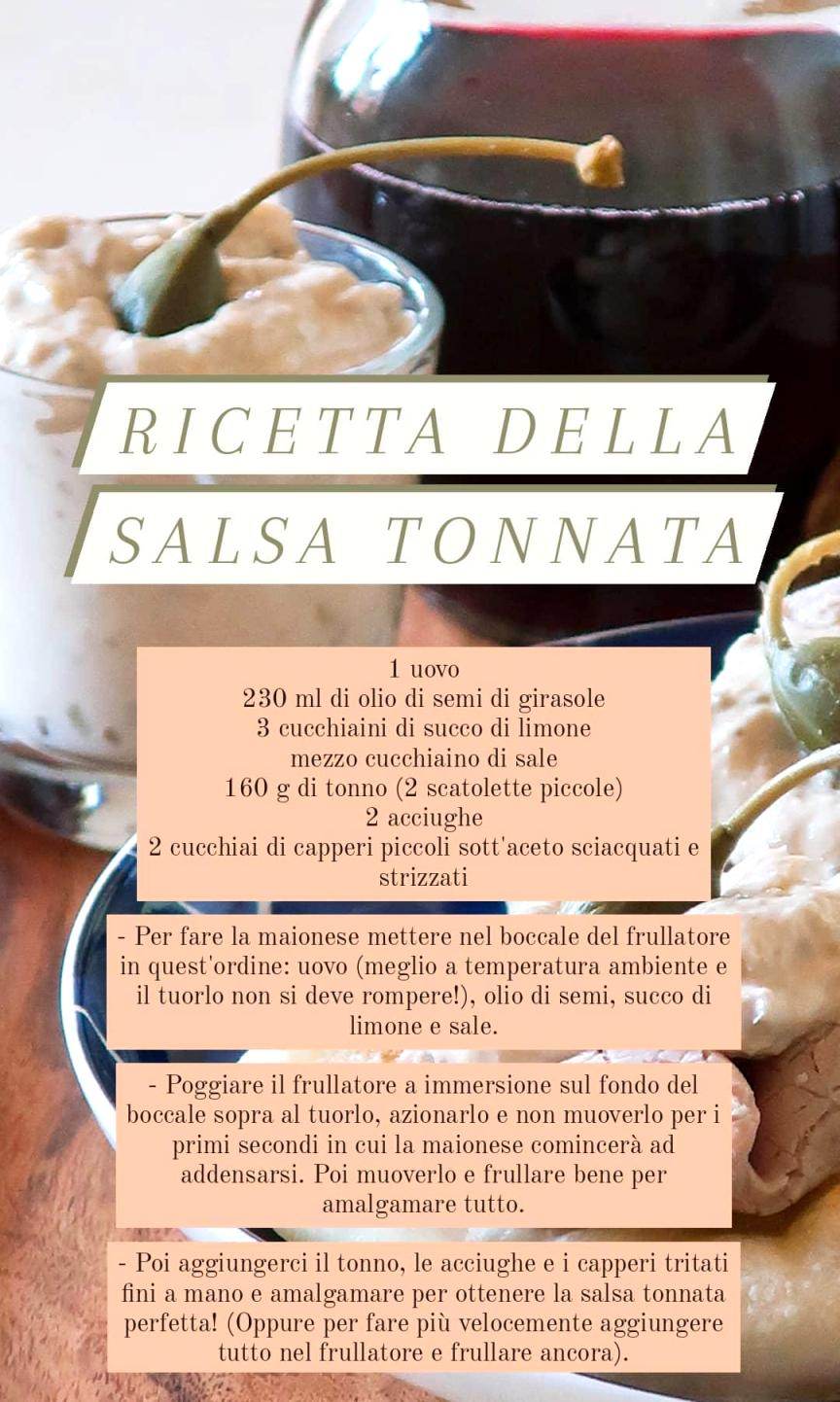 ricetta salsa tonnata