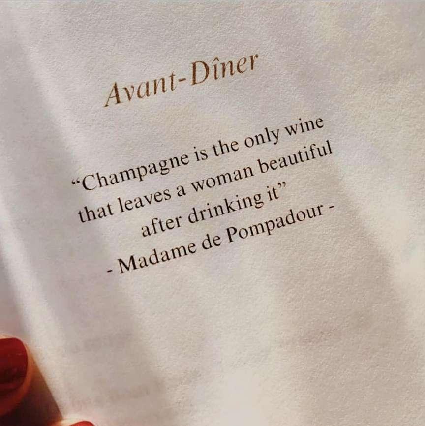 citazione sullo champagne
