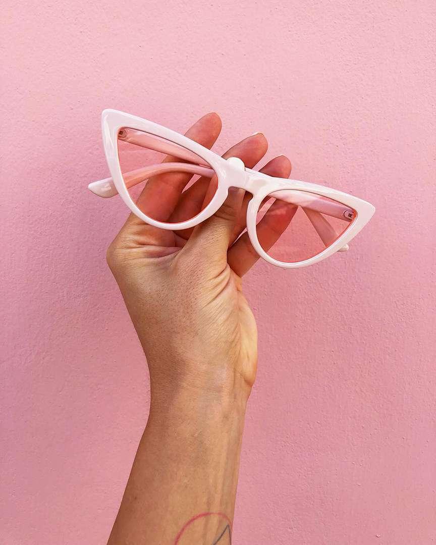 occhiali modello gatta cat eye