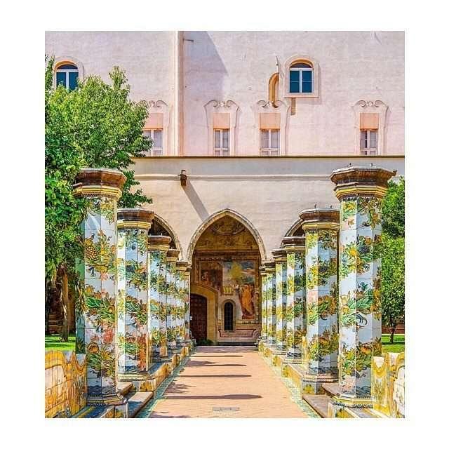 chiostro monastero santa chiara