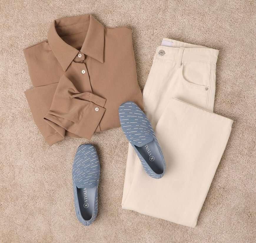 scarpe vivaia con outfit