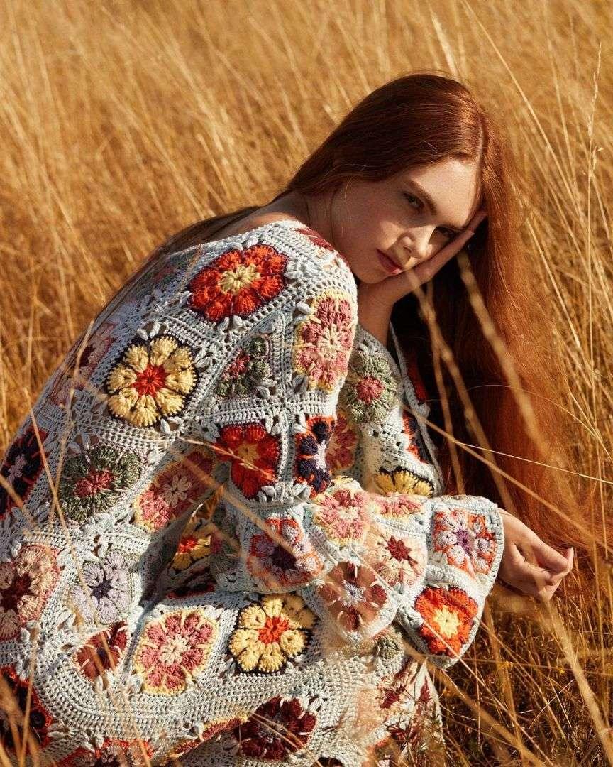 crochet uncinetto trend moda anni 70