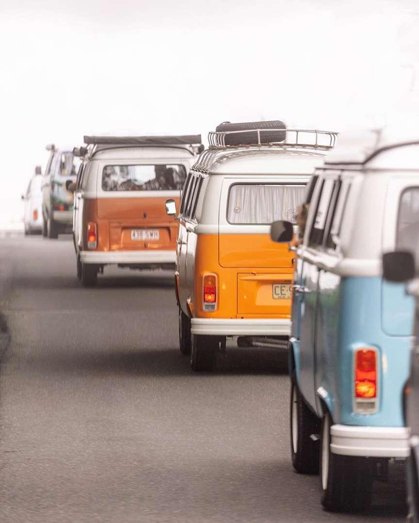 Camper minivan Volkswagen