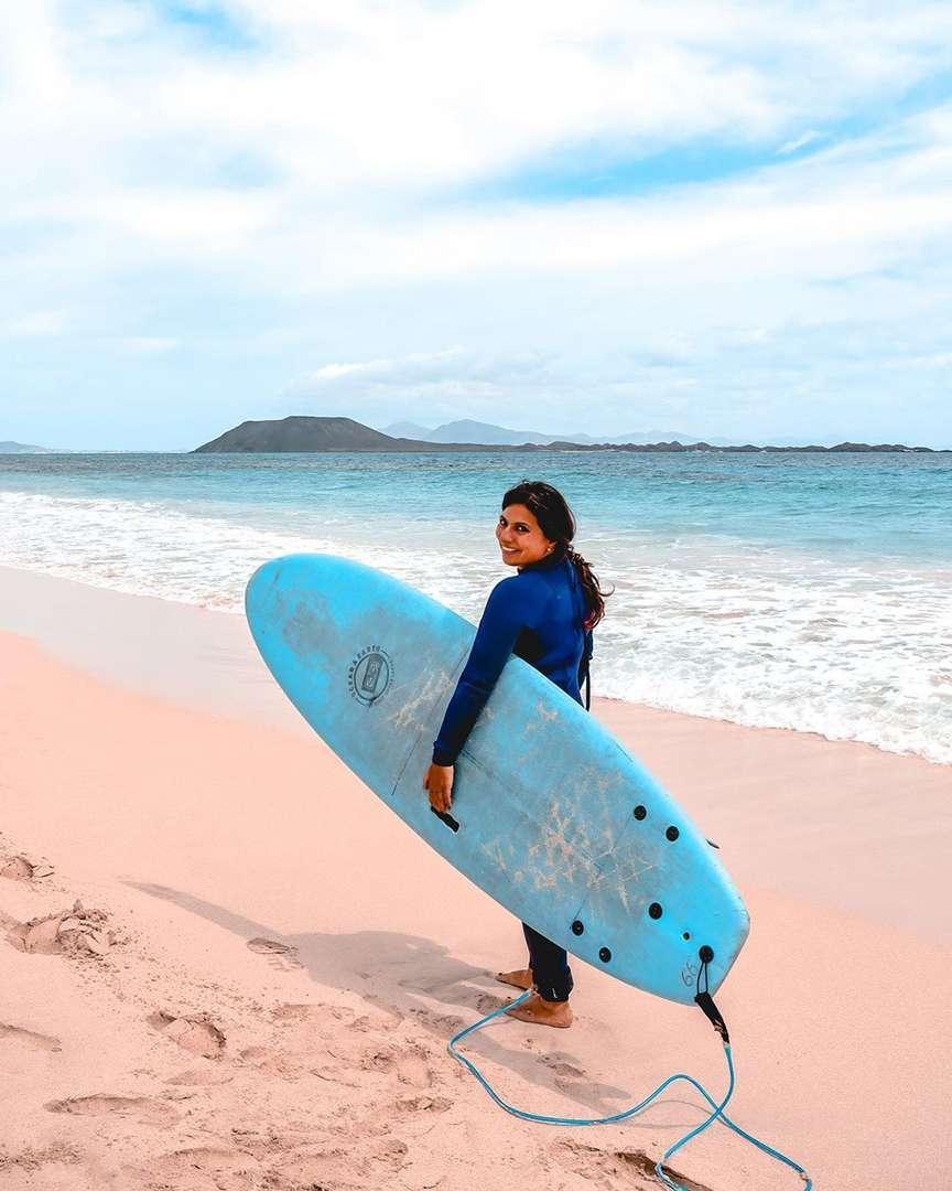 Surf e sport per la vita da van