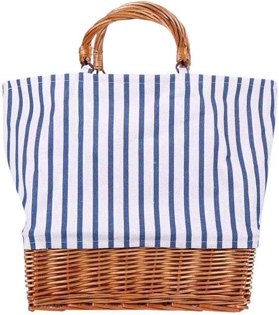 borsa per picnic spiaggia mare