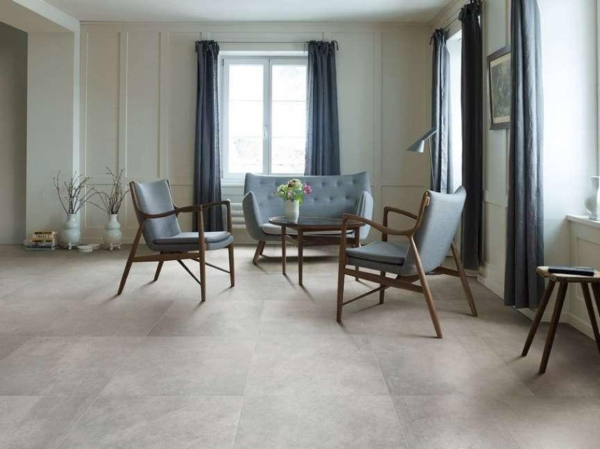 scegliere i pavimenti - cemento effetto PVC