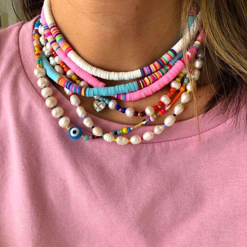 collane colorate trend 2021