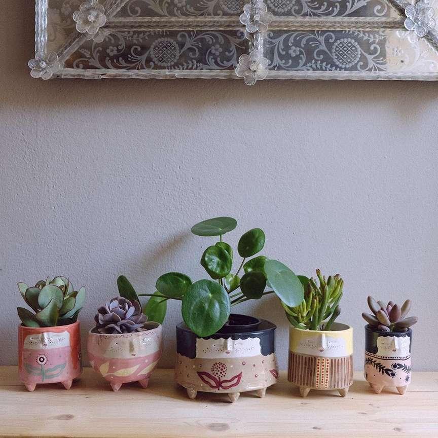 vasi in ceramiche artigianali