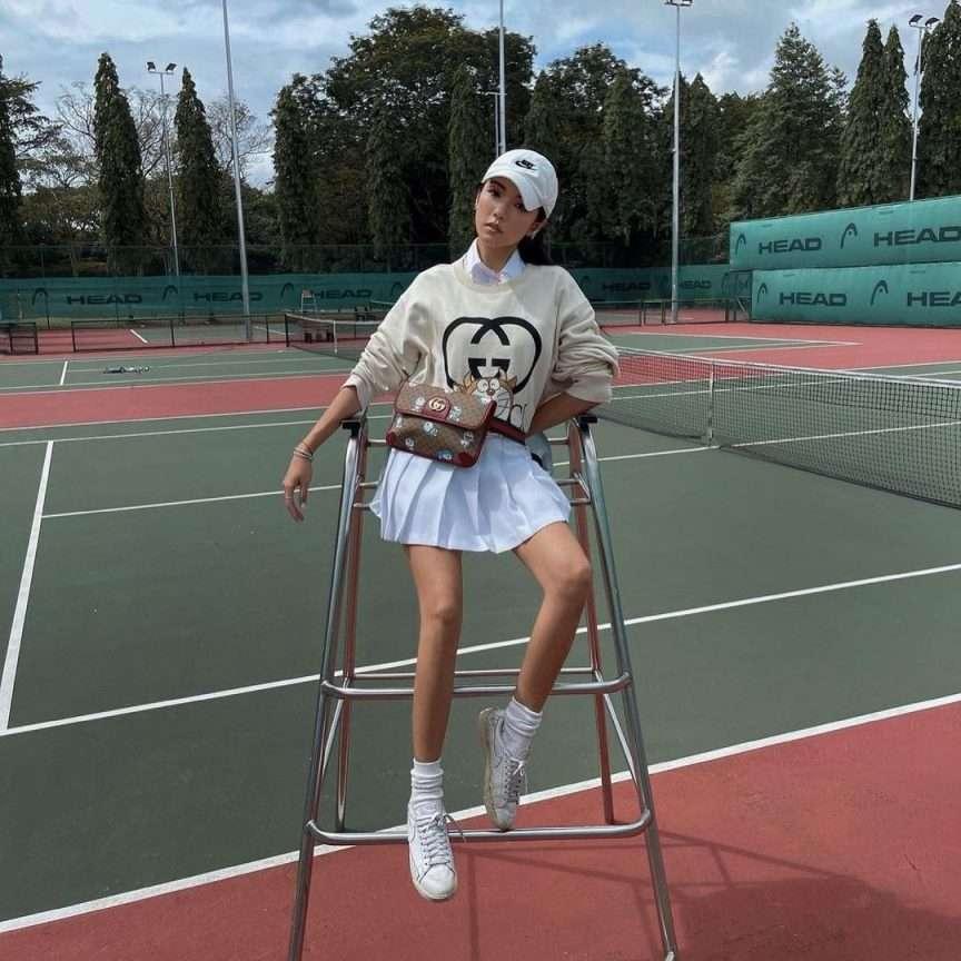 tennis look