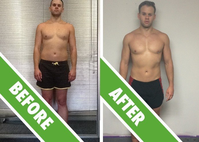 Personal Training Sydney - Fat Loss Client Andrew